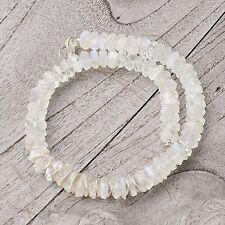 Echtschmuck mit Mondstein-Halsketten aus