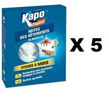 5 Chip Black gegen Motten X Künstliche Bienenmaden,Bee Maggots,Kapo Wirksam 4