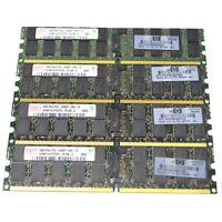 32GB 8x4GB DDR2-667 MHz PC2-5300P 5300 ECC Registered 240-pin Server Memory RAM