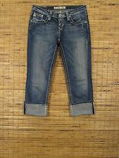 Big Star RIKKI W27xL26 Low Rise Slim Fit Stretch Cropped Leg Jeans 5WRIKIMZEA