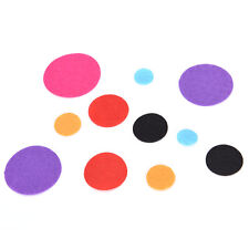 New listing 100X Eco-friendly Round Fabric Pads Accessory Patches Circle Felt Pads FabriY Fj