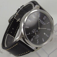 New Solid 42MM Black Dial Stainless steel ST Movement Automatic Men's Watches