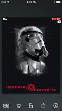 Topps Star Wars Digital Card Trader Platinum First Order Stormtrooper Insert