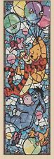 Winnie the Pooh Stained Glass Counted Cross Stitch #10-65