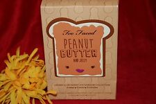 TOO FACED PEANUT BUTTER AND JELLY 9 EYE SHADOW SET NEW IN BOX 100% AUTHENTIC