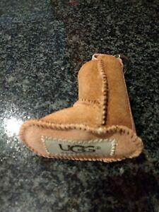 UGG Australian Sheepskin Boot Key Chain FOB Chestnut - NEW - FREE shipping - NIP