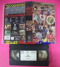 VHS RECOGNITION Rpo in jamaica 1991 POLYGRAM 083 158 3 (VM9) no mc dvd lp