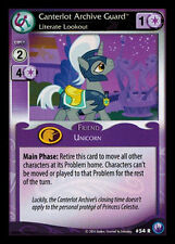 3x Canterlot Archive Guard, Literate Lookout - 54 - My Little Pony Canterlot Nig