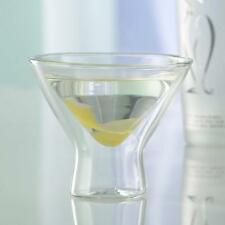 Wine Enthusiast US Kitchen Steady-Temp Double Wall Insulated Martini Glass