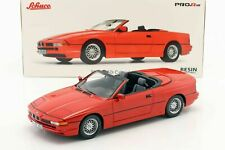 Schuco 1/18 BMW 850i Cabriolet red 450006800