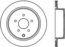 FRONT REAR SET Performance Cross Drilled Slotted Brake Disc Rotors TBS35918