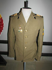 Russian soviet army sergeant construction troops parade tunic military USSR