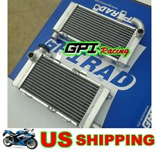 GPI aluminum radiator Honda Super Hawk VTR1000F 1997-2005 98 99 00 01 02 03 04