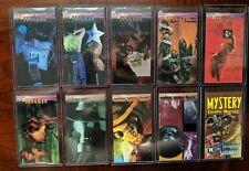 Vintage 1994 Skybox DC Comics Vertigo Trading Cards 10 Featuring Sandman!