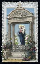 santino merlettato-holy card-canivet AVE MARIA dopter