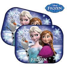 2 ~ Frozen Niños Bebé Niña Niños coche ventana sombrillas Malla Visera de protección UV