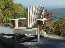 Classic Fanback Pine Adirondack Chair  - Made in North Carolina