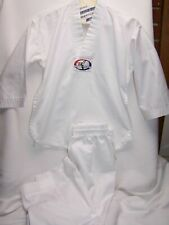 Tiger Claw White Karate Outfit Uniform Halloween Costume Size 00