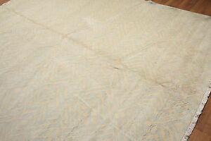 9' x 12' Modern Oriental Area Rug 100% New Zealand wool 9x12 Beige
