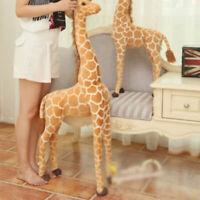 60CM Plush Giraffe Doll Large Stuffed Animals Soft Toys Gift UK Seller IN9