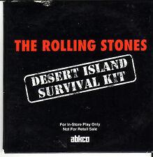 "ROLLING STONES ""Desert Island Survival Kit""15TrackPromo"