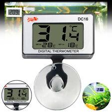 Aquarium Temperature Gauge Lcd Digital Thermometer For Fish Tank Water Meter