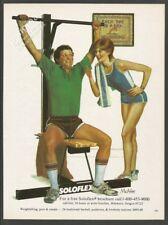 SOLOFLEX -1982 Vintage Print Ad