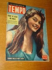TEMPO 1953/45=BRIGITTE BARDOT=EDMONDO VASTALEGNA=TERRUGGIA=ALLUVIONE CALABRIA=