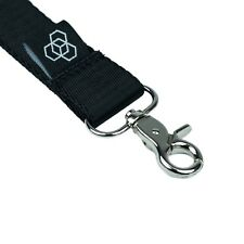 Carbon Collective Black Woven Lanyard Detailing Valeting Free Recorded P&P