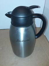 Starbucks Barista Stainless Steel Coffee Carafe