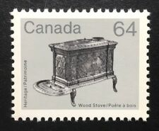Canada #932i CP MNH, Wood Stove Artifact Definitive Stamp 1984