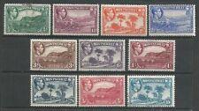 MONTSERRAT 1938 KGVI  10*MLH;2*F.Used   Wmk.Mult ScriptCA  SG101,103-111 Cat.£96