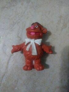 Vintage 1978 SCHLEICH Sesame Street Muppets 2'' FOZZIE BEAR PVC Figure W.Germany