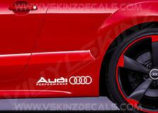 Audi Performance Alt Überlegen Guss Auto Rock Aufkleber RS A3 A4 Quattro S-line