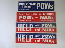 Pow Bumper Stickers – Lot of 4