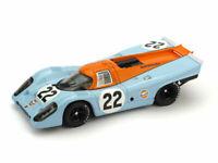 Model Car Scale 1:43 Brumm Porsche 917K Racing Nets Accident Lm diecast