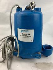 Goulds WE0311M Submersible Effluent Pump