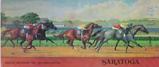 RARE STAKES RACE HORSE RACING PROGRAM THE SARATOGA SPECIAL  SARATOGA RACETRACK