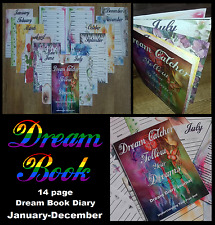 14 Page Follow Your Dreams Catcher Journal Dairy Note book Planner Year Remember
