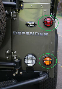 LAND ROVER DEFENDER ALL MODELS LAMP GUARD TO SUIT 74MM LAMP BA 012D ONE GUARD