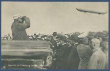 Leipzig 1908, Graf Zeppelin und sein Luftschiff LZ 4 Foto, ungebraucht (AK1494)