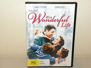 It's A Wonderful Life DVD - REGION 4 - LIKE NEW