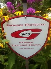 P3  Burglar Alarm Security Yard Signs