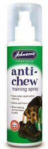 Johnson's Anti Chew Training Spray Behaviour Spray Stop Chew Repellent 150ml
