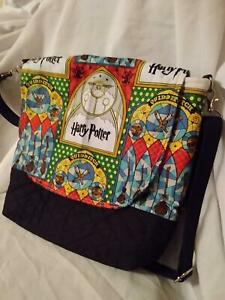 Harry Potter's Quilted Messenger/Crossbody Bag