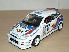 Burago Rally COCHE  FORD FOCUS 5 WRC Martini 1:18 MODEL CAR RALLYE MIINIATURE