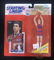 1993 NBA Starting Lineup Tom Gugliotta Bullets New Sealed Topps Card SLU NBA