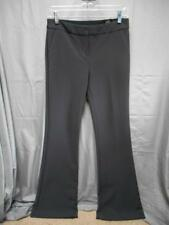 NWD Express women's size 2R gray flare mid rise dress pants