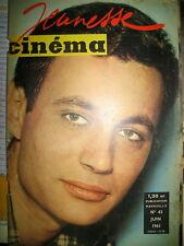 MICHEL SUBOR GERARD PHILIPE FRANCOIS PERIER JEANNE MOREAU JEUNESSE CINEMA 1961