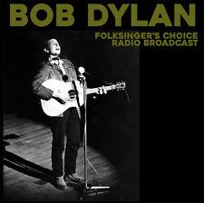 BOB DYLAN  FOLKSINGER'S CHOICE RADIO BROADCAST (1962) LP ITALY IMPORT 500 COPIES